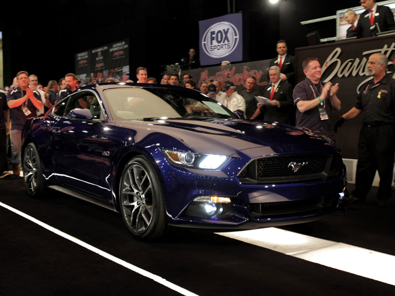 First Retail Unit 2015 Ford Mustang GT Fastback Sells for $300,0