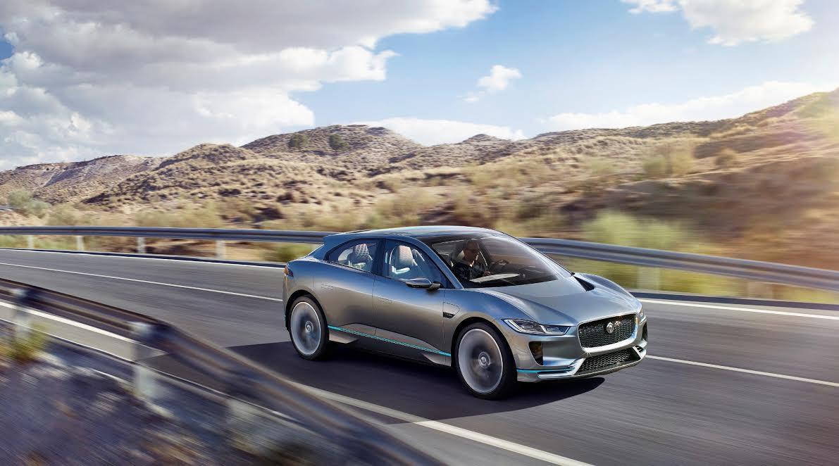 Jaguar Land Rover Confirma Um Futuro Limpo No Salão De Los Angeles