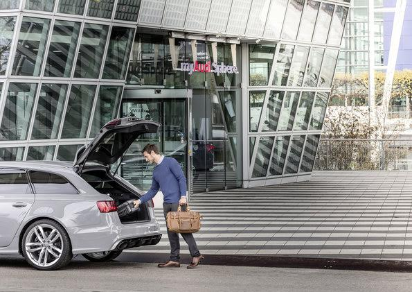 First German location for Audi on demand