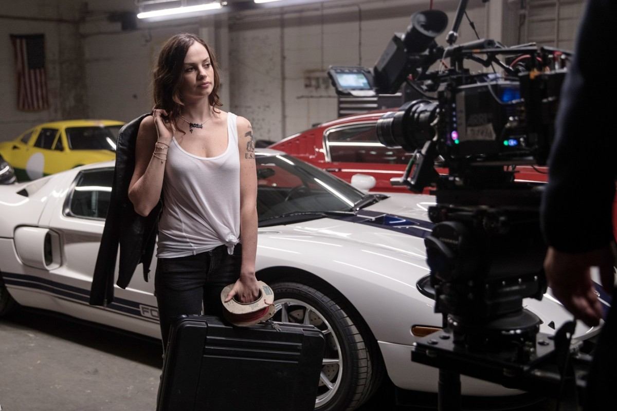 Images from the Ford Go Faster film shoot in London July 20, 2017.