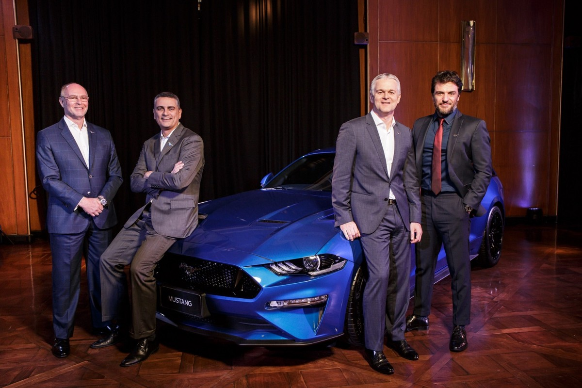 Ford apresenta pela primeira vez o Mustang GT Premium para o mercado brasileiro e anuncia o início da sua pré-venda