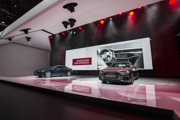 Novos destaques para a classe de luxo: Audi A6 e o protótipo Audi e-tron no Salão de Genebra