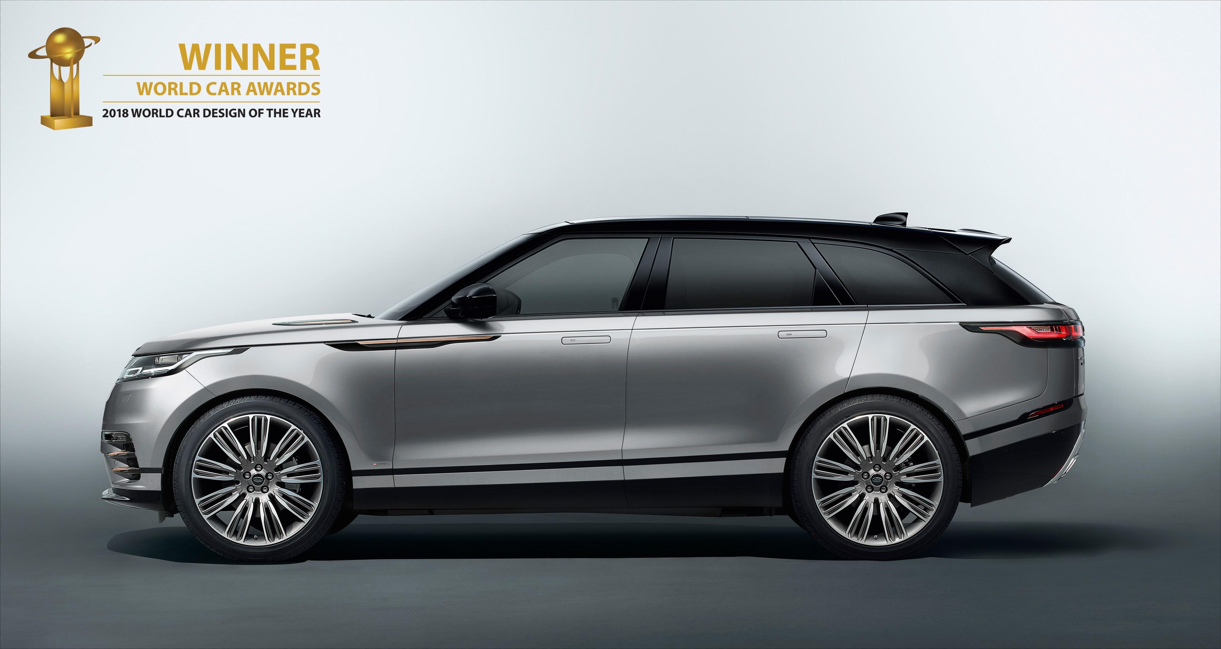 Range Rover Velar é Eleito O Carro Mais Bonito Do Mundo
