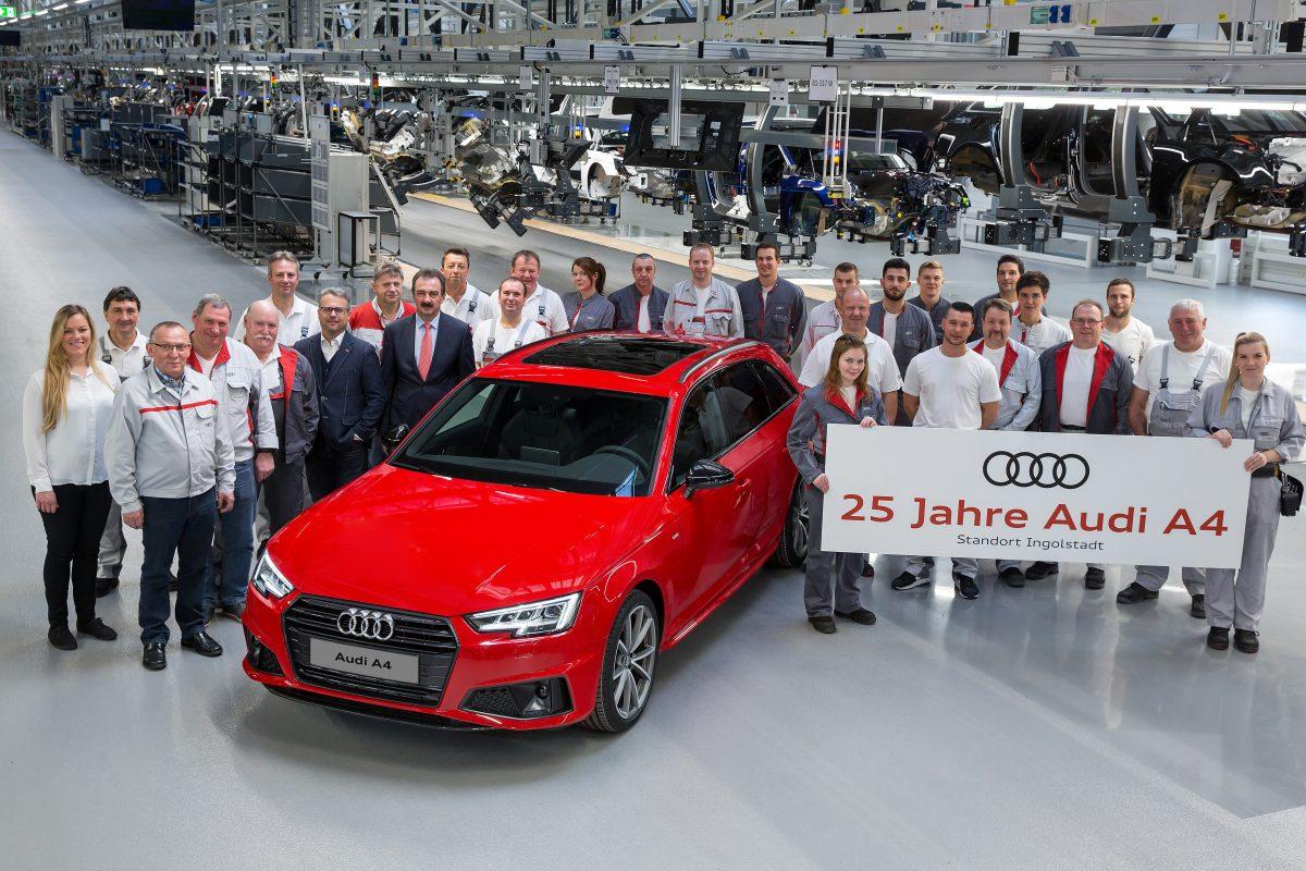 Jubileu de prata: Audi A4 celebra 25 anos