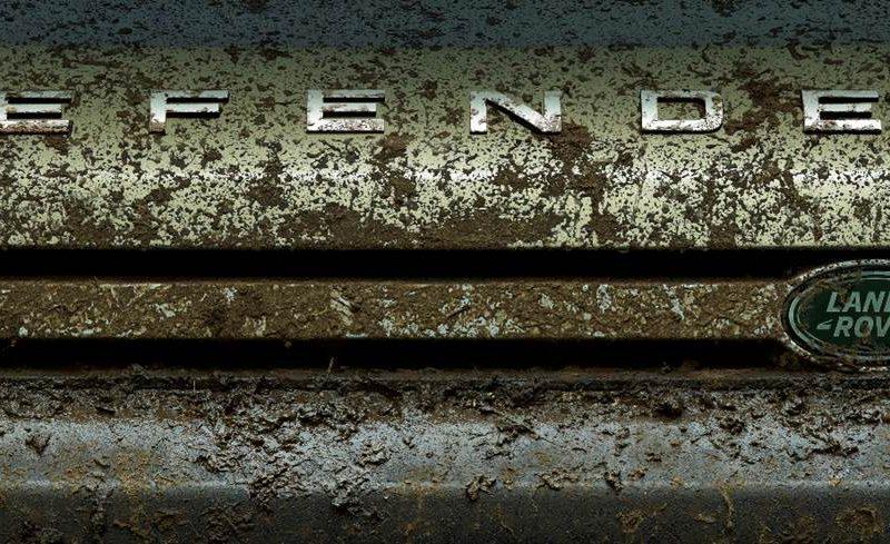 Expedição 001 Do Novo Land Rover Defender Modelo Vai Ao