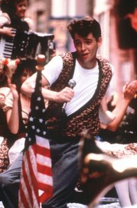 "FILE - In this photo provided by Paramount Pictures, actor Matthew Broderick appears from a scene from the film ""Ferris Bueller's Day Off"" in 1986. The film was directed by John Hughes. Hughes, wrote ""National Lampoon's Vacation,"" ""Mr. Mom"" and ""Natonal Lampoon's European Vacation."" He also wrote and directed ""16 Candles,"" ""The Breakfast Club,"" and ""Weird Science."" Hughes, who was 59, died in New York on Thursday. (AP Photo/Paramount Pictures) NY906"