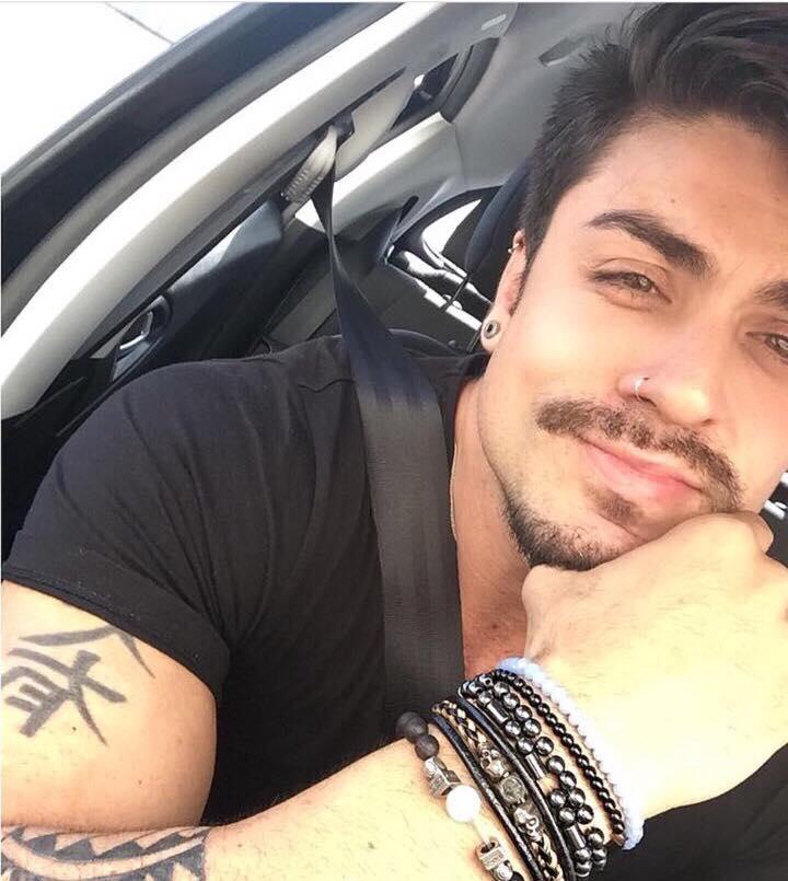 Rodrigo Gaucho é outro fã das pulseiras Redkull.