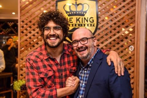 Caio Castro e Gomes na The king