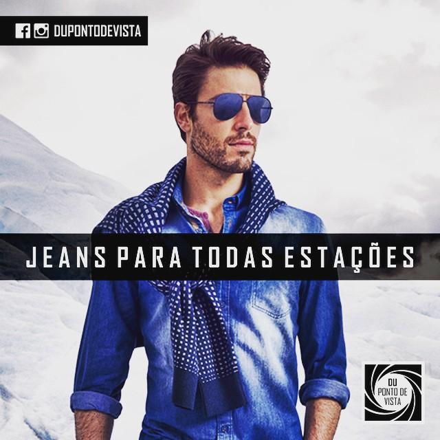 96cc77fc11f1f Camisas jeans sempre - Du Ponto de Vista Masculino