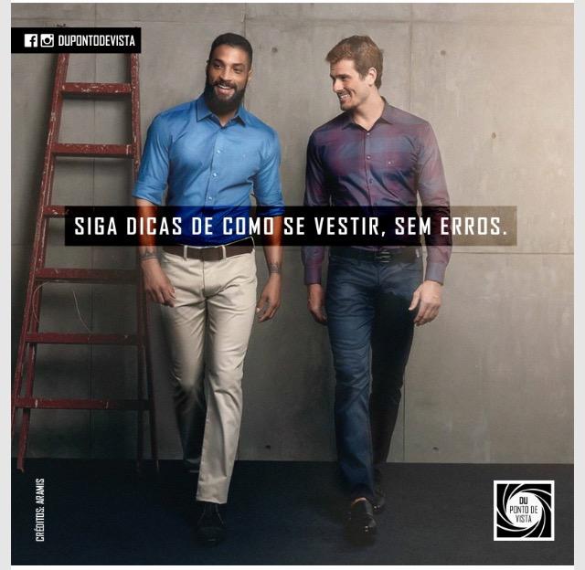 7d43e184b1306 Sete ERROS capitais na hora de se vestir - Du Ponto de Vista Masculino