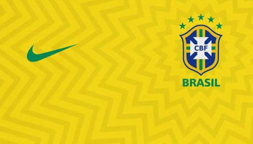 Uniformes da seleção Brasileira a587406ab1443