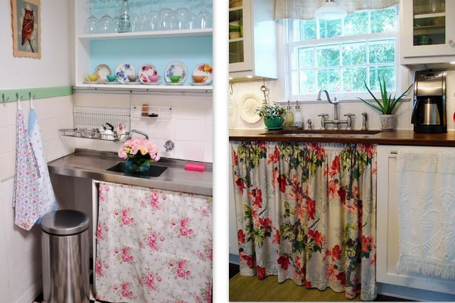 decorar cozinha velha:Se você gostaria de trocar os seus armários, mas o orçamento está