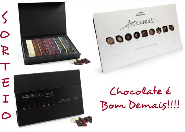 Deixe seu comentário e concorra a duas caixas de chocolate ...