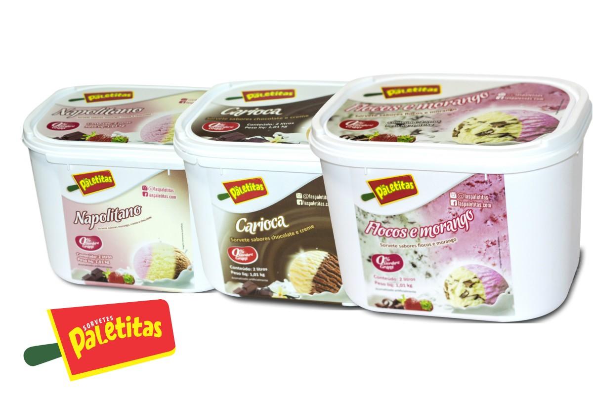 Sorteio: quer ganhar um pote de sorvete da Las Paletitas?