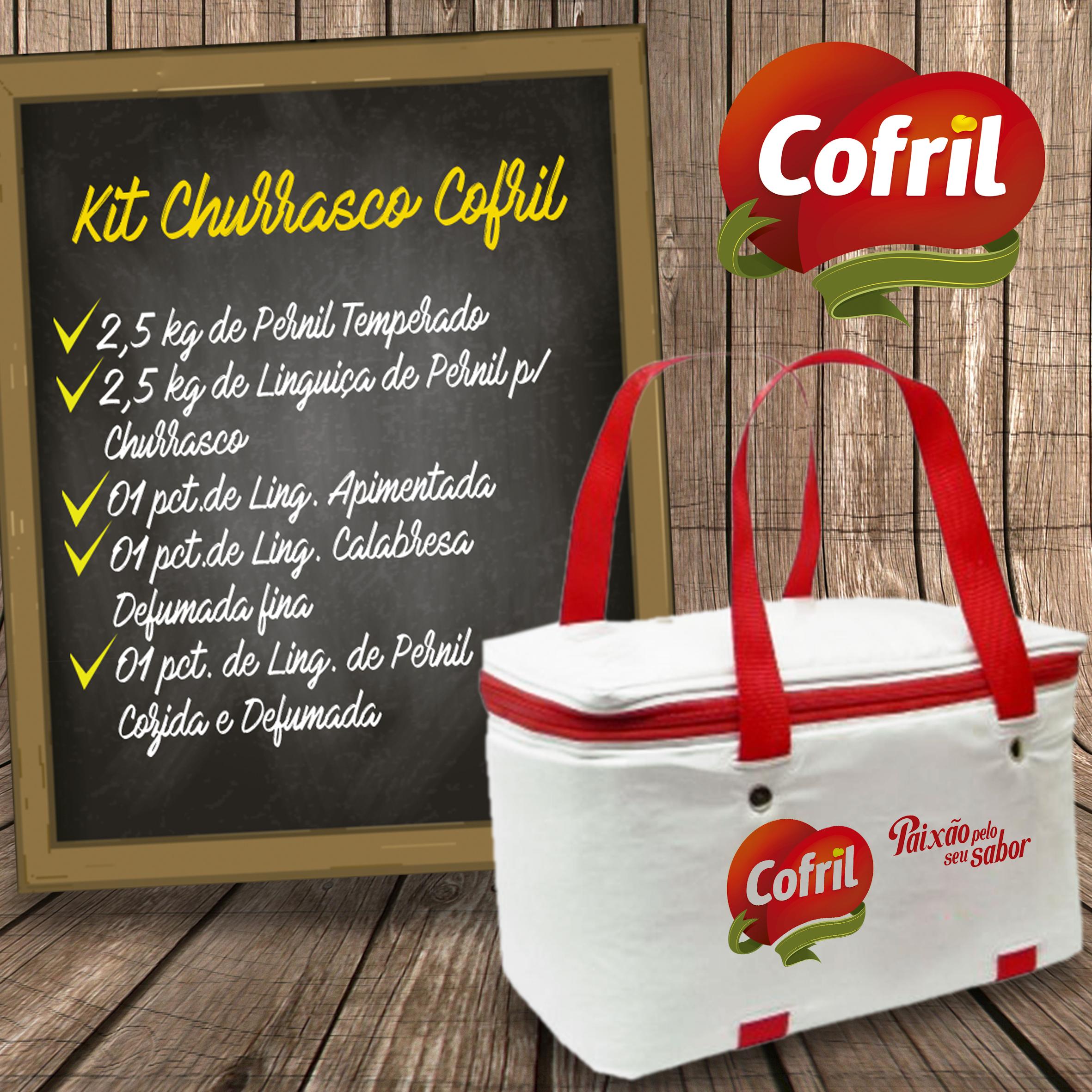 Sorteio: tem kit de churrasco da Cofril - Espaço Gourmet
