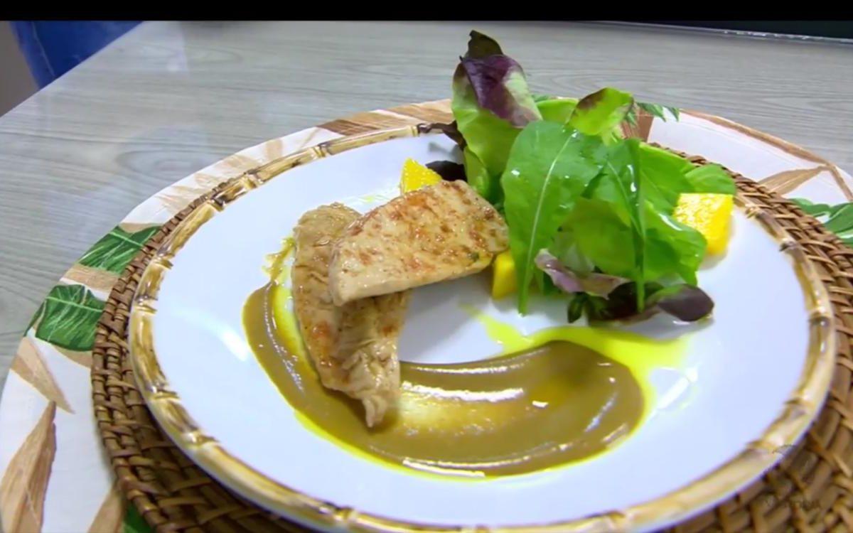 Sassami: peito de frango no azeite