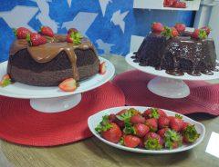 bolo de chocolate com nutella