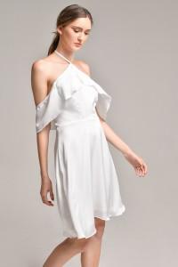 Vestido Branco Villa Fiore R$ 169,00
