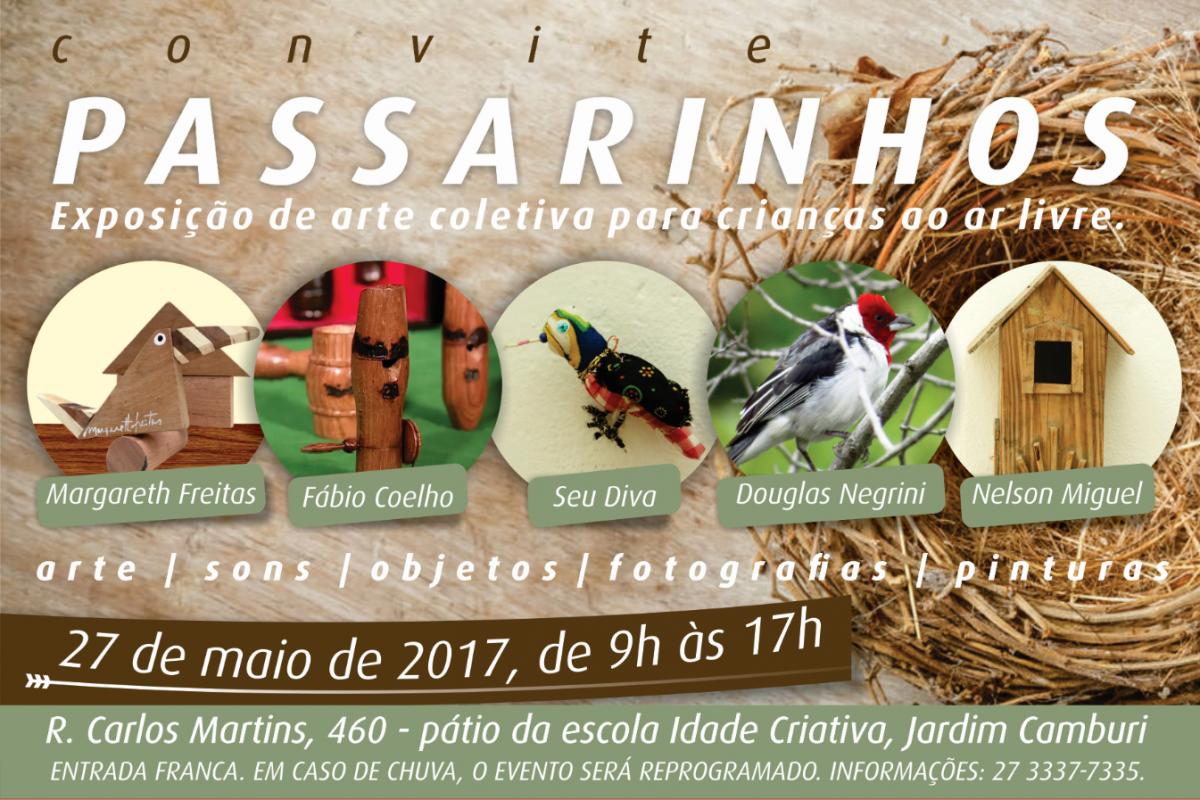 Exposição Passarinhos promete movimentar Jardim Camburi