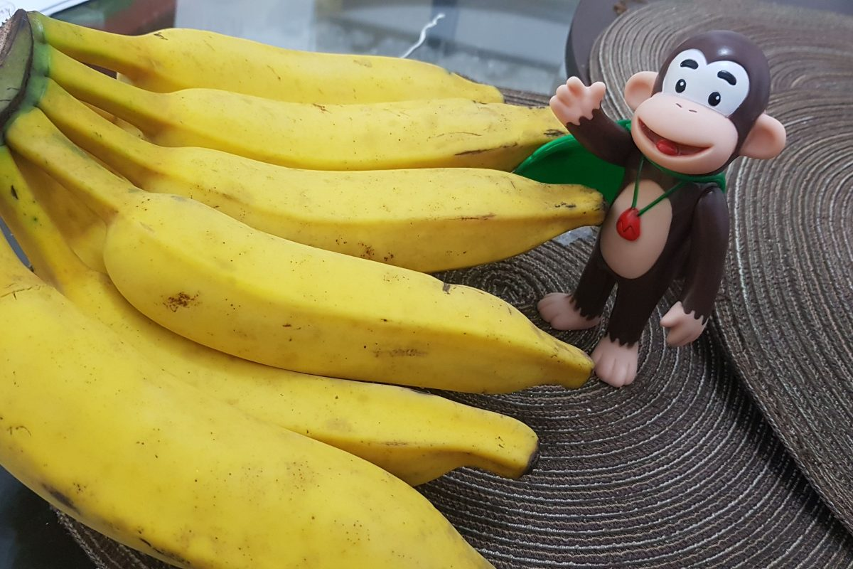 A história da banana.