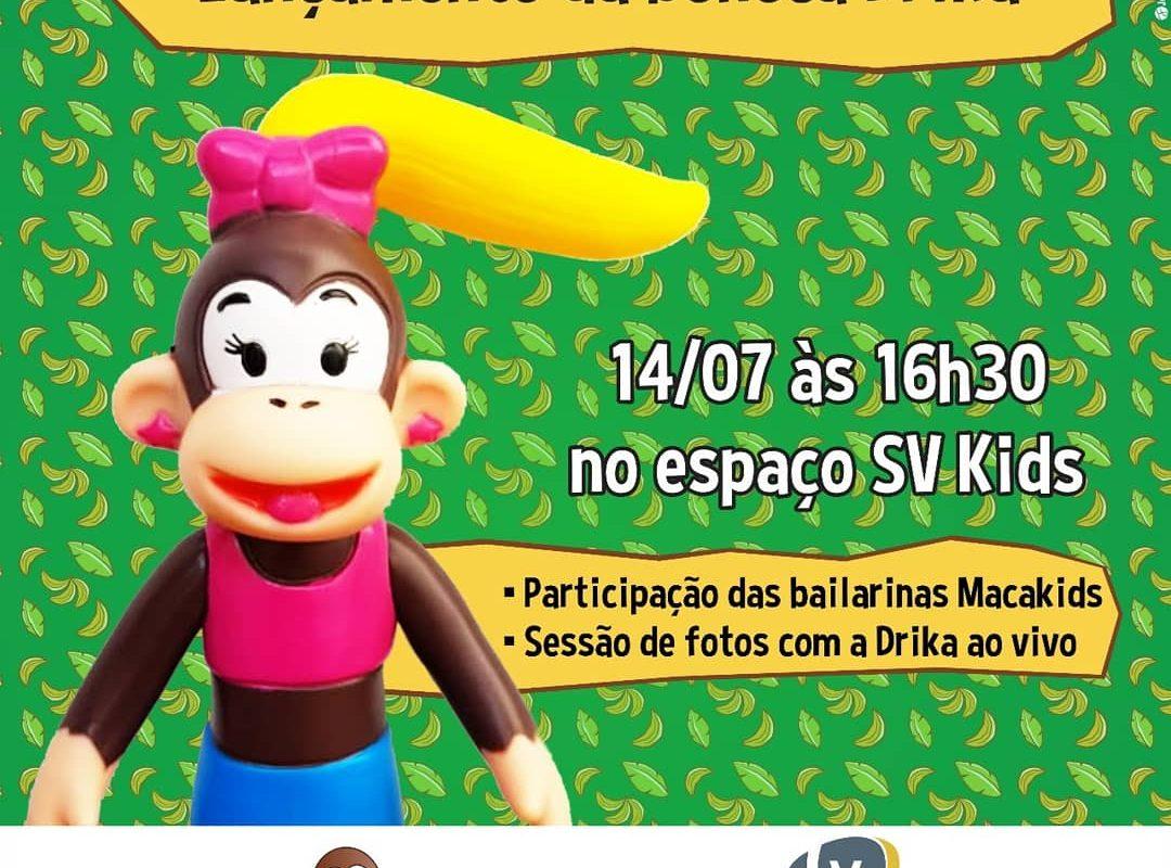 Lançamento da boneca Drika Macakids no shopping Vitória