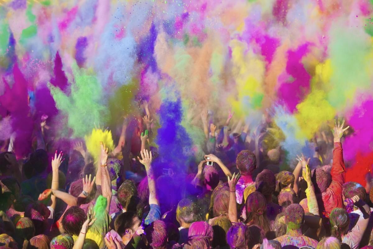 Holi Weekend Festival das Cores