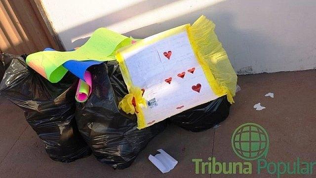 Equipe de Luan Santana joga fora presentes de fãs - Na Balada