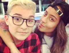 Mc Gui e irmã de Neymar