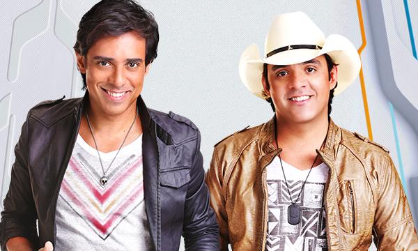 Guilherme e Santiago detona dupla sertaneja no palco