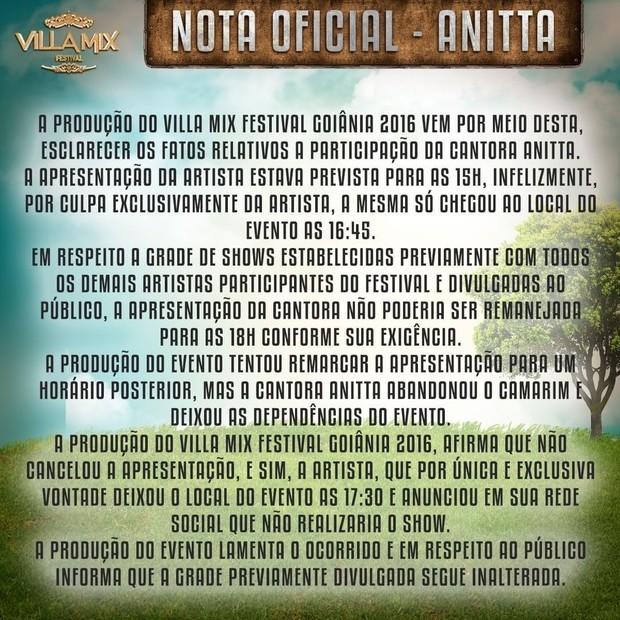 Villa Mix Anitta