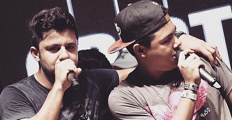 Cristiano Araújo e Felipe Araújo