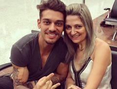 Lucas-Lucco-e- mãe Karina