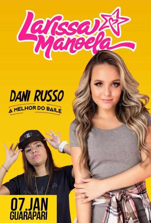 Larissa Manoela em Guarapari