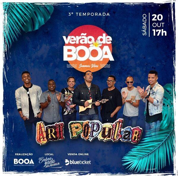 Verão de Booa Art Popular