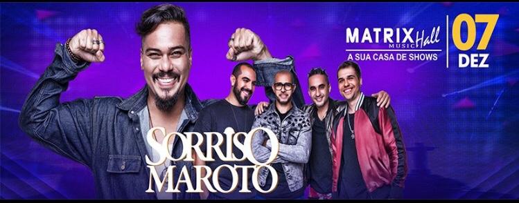 Sorriso Maroto se apresenta na Matrix depois da volta de Bruno Cardoso