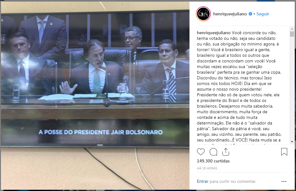 Henrique e Juliano - Bolsonaro