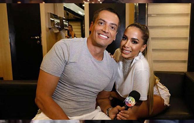 Anitta e Léo Dias