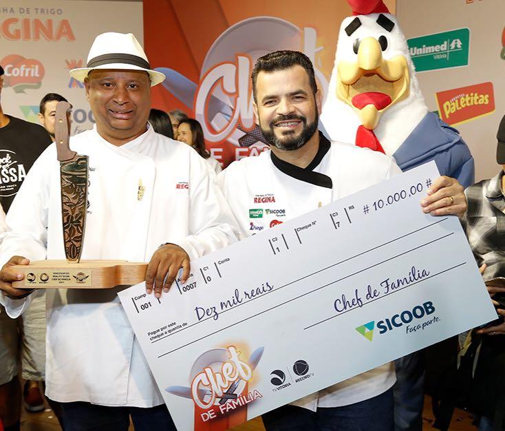 Programa Especial com Gideão Reis vencedor do Chef de Família