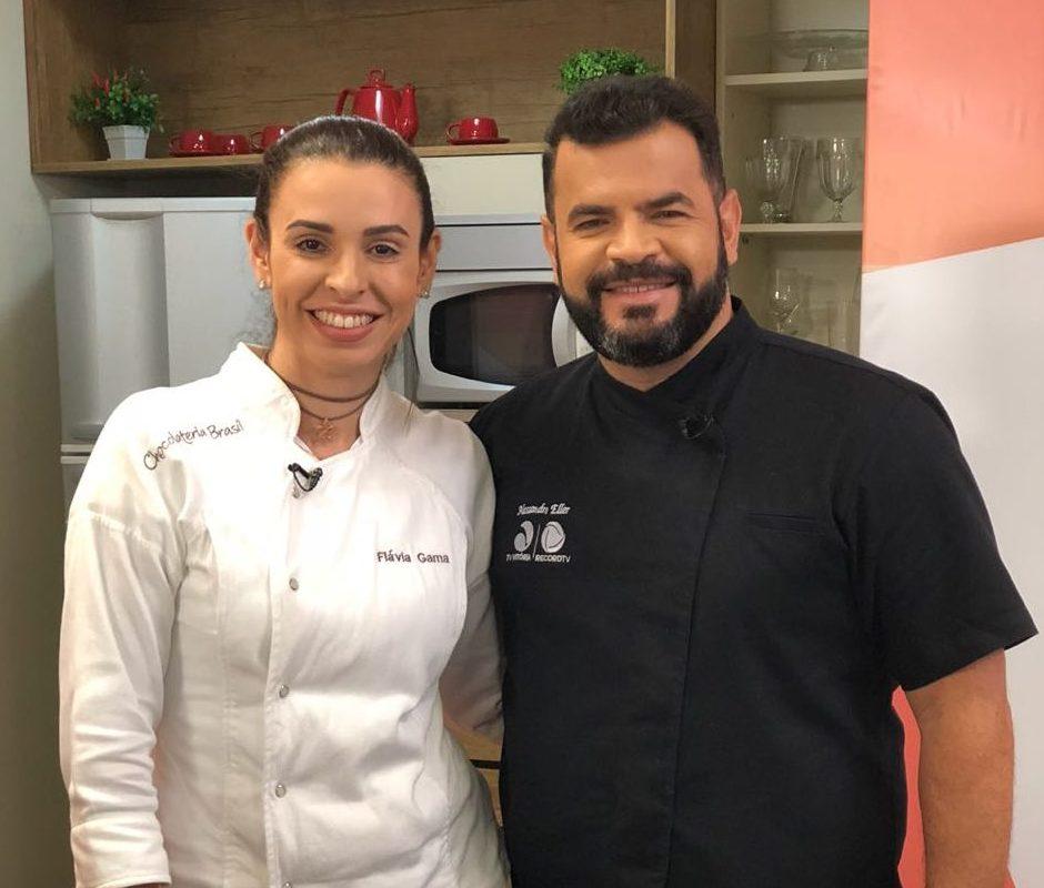 Receita de Bolo Gelado da Chef Flavia Gama