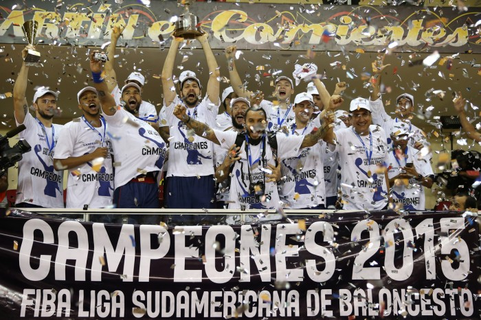 Brasília Conquista o Bi na Liga Sul- Americana 2015 - 3 Pontos