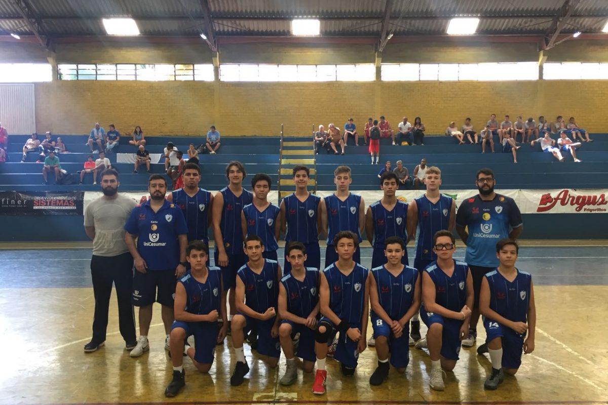 Atletas capixabas são campeões na Taça Paraná Sub15