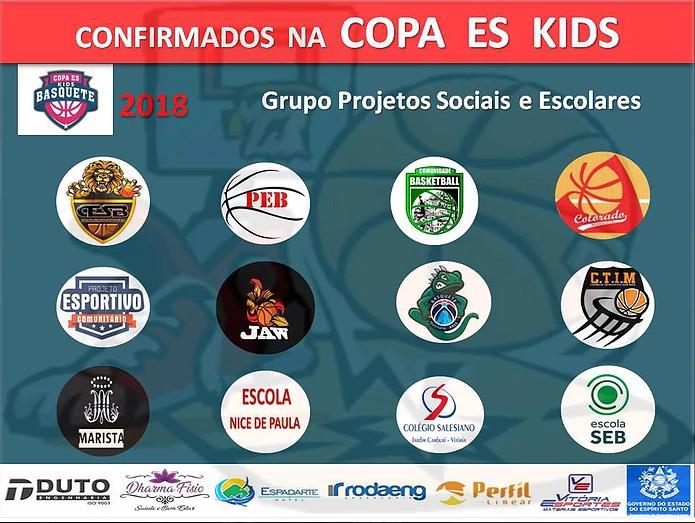 CETAF Recebe a Etapa Final da Copa ES Kids nesse Sábado