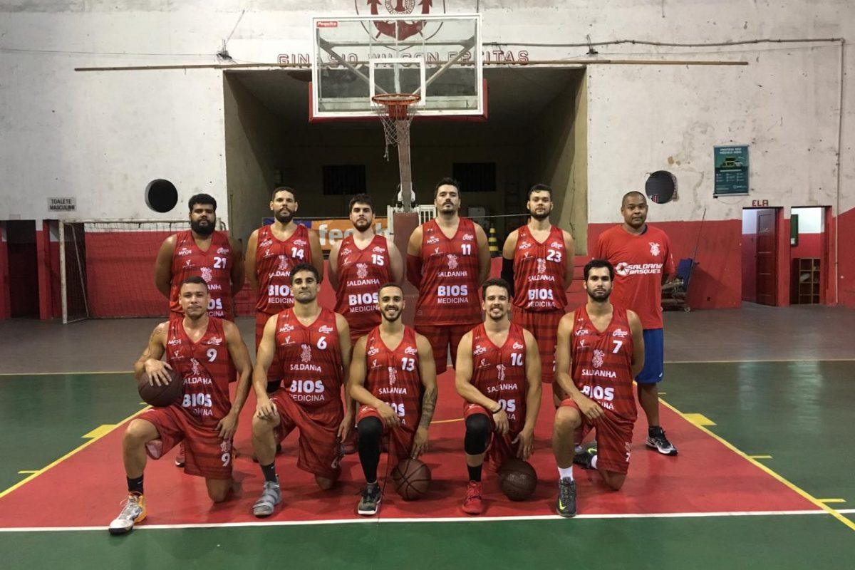 Time de basquete amador do Saldanha da Gama participa da Copa Brasil 2019