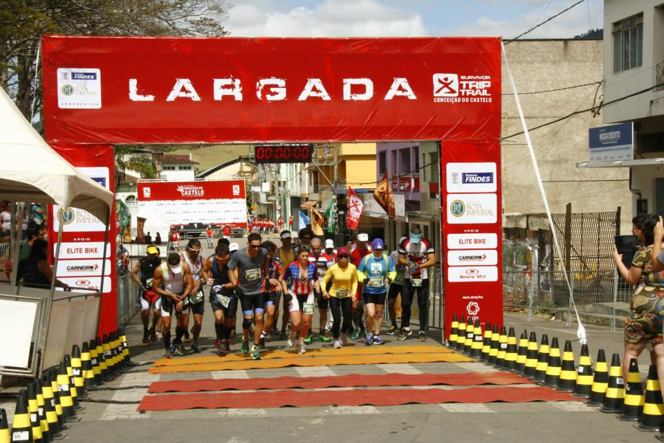 Largada Duathlon