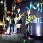 Night Run Etapa Marte Vitoria Pódio Feminino