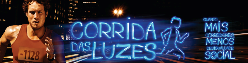 logomarca cortada Corrida das Luzes 2013