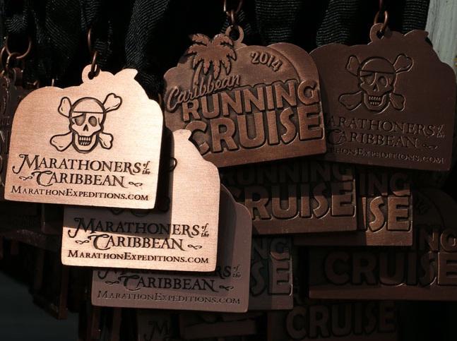 Medalhas Piratas do Caribe