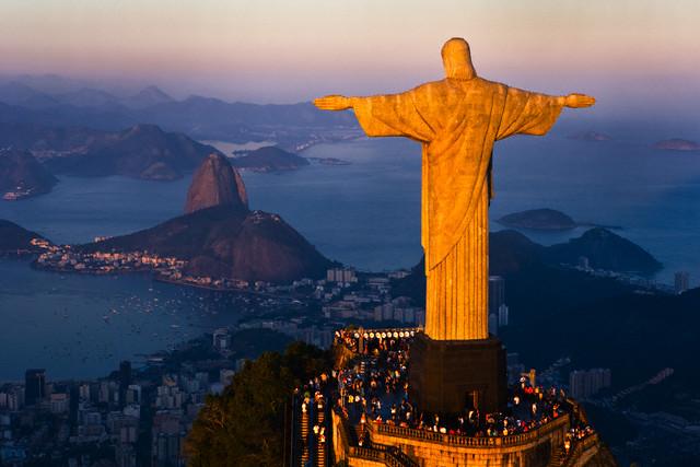 A Maratona dos Jogos Olímpicos Rio 2016 vai passar pelos cartões postais da cidade. Foto: Corbis