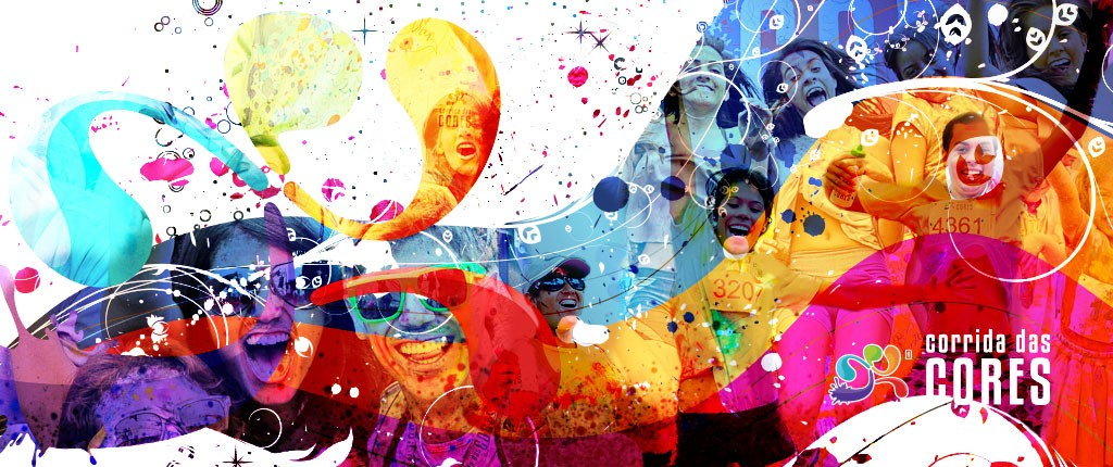 corrida das cores logo