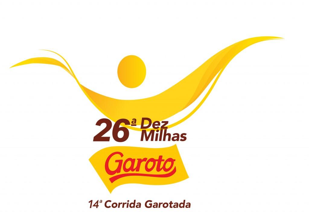 Logomarca 26ª Dez Milhas Garoto
